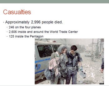 September 11 PowerPoint - ACTUAL IMAGES!
