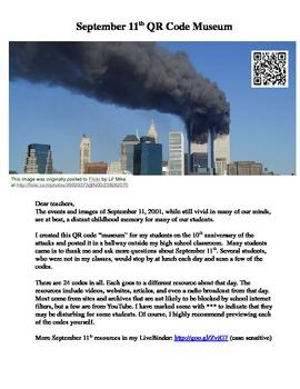 QR Code Museum for September 11, 2001