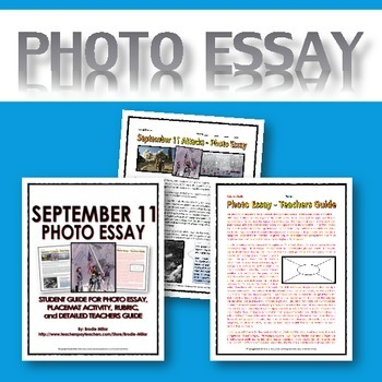 September 11 - Resource Bundle (8 Resources with Rubrics and Teacher Keys)