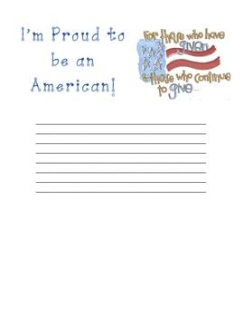 September 11 Writing Paper