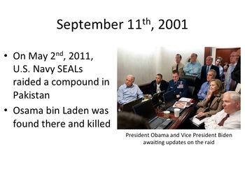September 11th PowerPoint Presentation