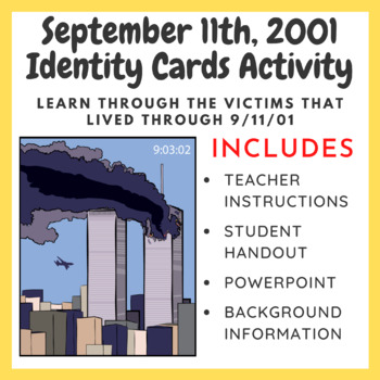 September 11th, 2001 Identity Cards Activity & Video Guide