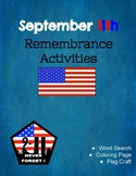September 11th, 2001 Remembrance Activities