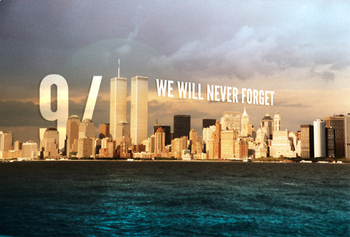"September 11th, 9/11 ""I Will"" handout"
