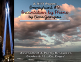 September 11th 9/11 Poem Immigrant #9 Incantation by Phone