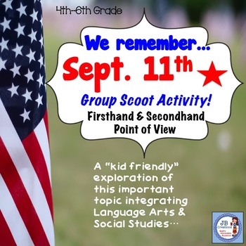 September 11th (9/11): First & Second Hand Account Perspectives (4th, 5th, 6th)