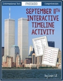 September 11th {9/11} Interactive Timeline Activity ~ Read