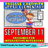 September 11 - 9/11: Passage and Questions: Interactive No