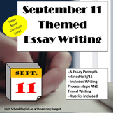 September 11 (9/11) Themed Essay Writing, w Rubrics & Printables