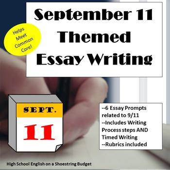 September 11 (9/11) Themed Essay Writing, w Rubrics & Printables