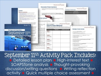 September 11th Activity: Inspiring Students through Informational Text