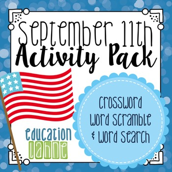 September 11th Worksheets Teaching Resources | Teachers Pay Teachers