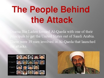 September 11th - Bin Laden - Analysis and Remembering Power point