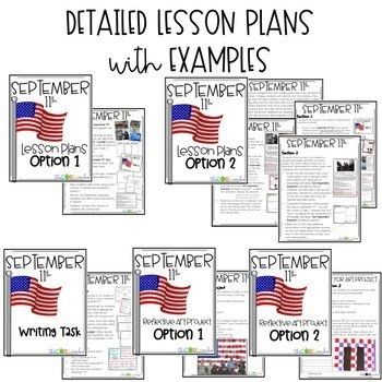 9/11 Close Reading, Writing, & Art Project for September 11: Grades 1-3