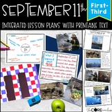 September 11th: Integrated ELA, SS, and Art Lessons with Printable Text (1-3)