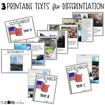 9/11 Close Reading, Writing, & Art Project for September 11th: Grades 4-6