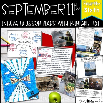 September 11th: 9/11 Reading, Writing, and Art with Printable Texts (4-6)