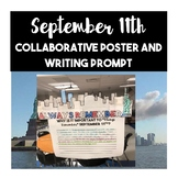 September 11th Collaborative Layered Poster and 9/11 Writing Prompt