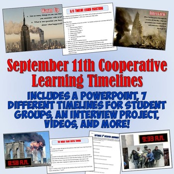 September 11th Cooperative Learning Timelines Lesson