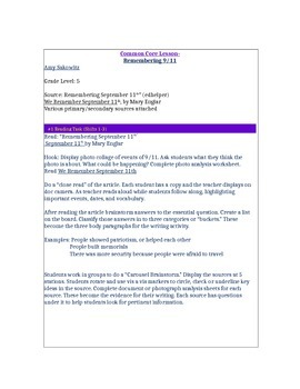 September 11th Document Based Question(DBQ)