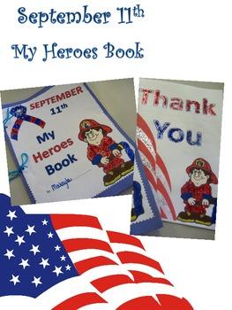 September 11th Heroes Book