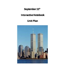 September 11th Interactive Notebook Unit Plan: Close Read