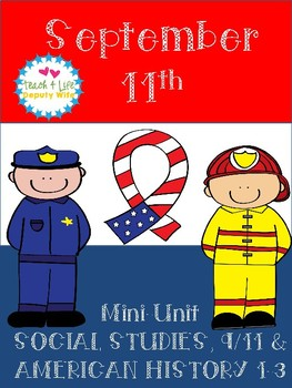 September 11th Mini-Unit  9/11 9-11 September 11