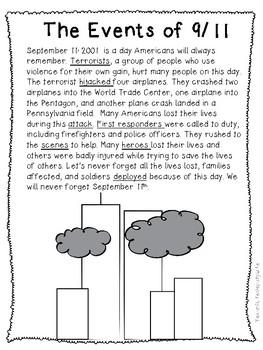 September 11th Mini-Unit  9/11 9-11 September 11