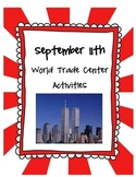September 11th - Nonfiction Reading Activities