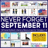 September 11th Patriot Day 9/11 First Responders (Digital Google Paperless)