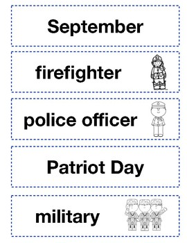 September 11th Patriot Day Mini Unit Activities