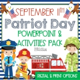 September 11th Activities Patriot Day Power Point Lesson & Activities Pack!