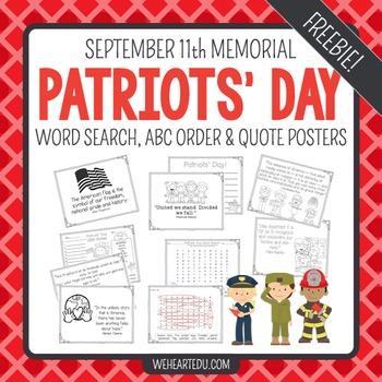 September 11th Patriots' Day Free