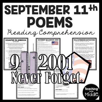 September 11th Poems Reading Comprehension, Compare and Contrast