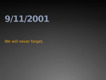 September 11th PowerPoint