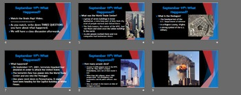 September 11th Powerpoint - Middle School Appropriate