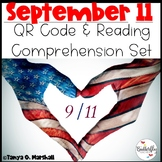 September 11th (9/11) Reading Comprehension and QR Code Activity Set