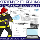 September 11th Reading Comprehension Passage with Question