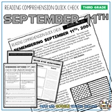 September 11th Reading Comprehension Passage and Questions