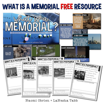 September 11th: What is a Memorial? FREEBIE