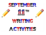 September 11th Writing Activities and Pages