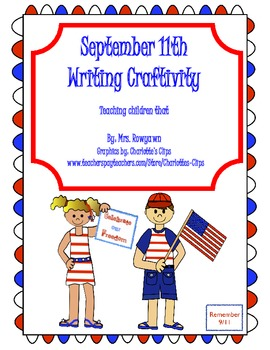 September 11th Writing Craftivity