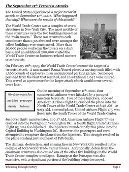 September 11th and the War on Terror