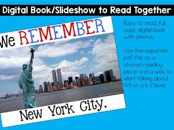 September 11 - Patriot Day for K-2 Students
