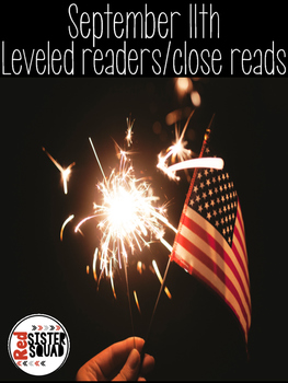 September 11th leveled lexiled readers/close read