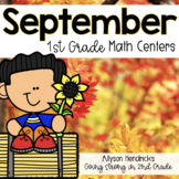 September 1st Grade Math Centers with Task Cards