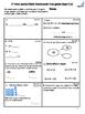 September 1st grade Math class/homework with Constructed Response