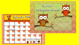 September 2016 Kindergarten Calendar for ActivBoard