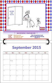September 2015  ( A 1-Month Inspirational Calendar for Teachers)