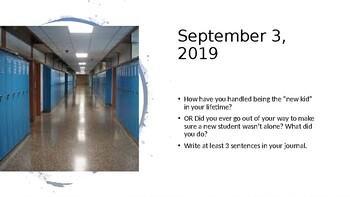 September 2019 Middle School Bell Ringers